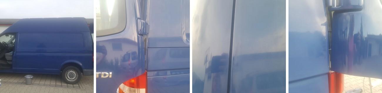 VW-Bus-Baujahr 2005 nach der Versiegelung mit Nanotol