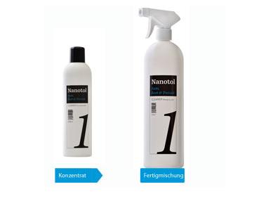 Nanotol Cleaner Konzentrat und Ready-to-use