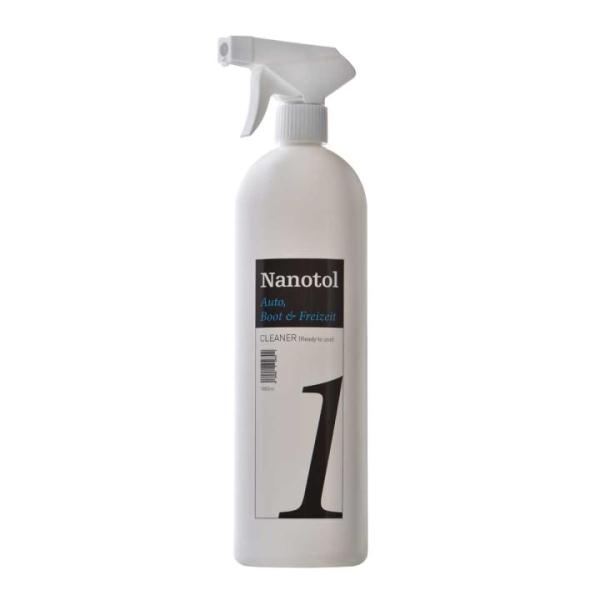 Mixflasche Nanotol Auto, Boot + Freizeit Cleaner (leer)