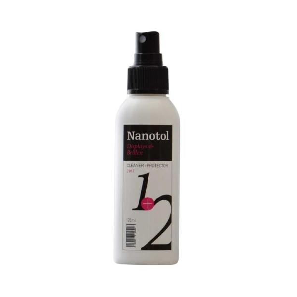 Nanotol Displays + Brillen 2in1 Cleaner+Protector