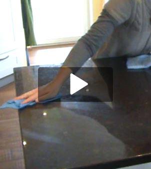 Nanotol Haushalt 2in1 - Video Granitarbeitsplatte