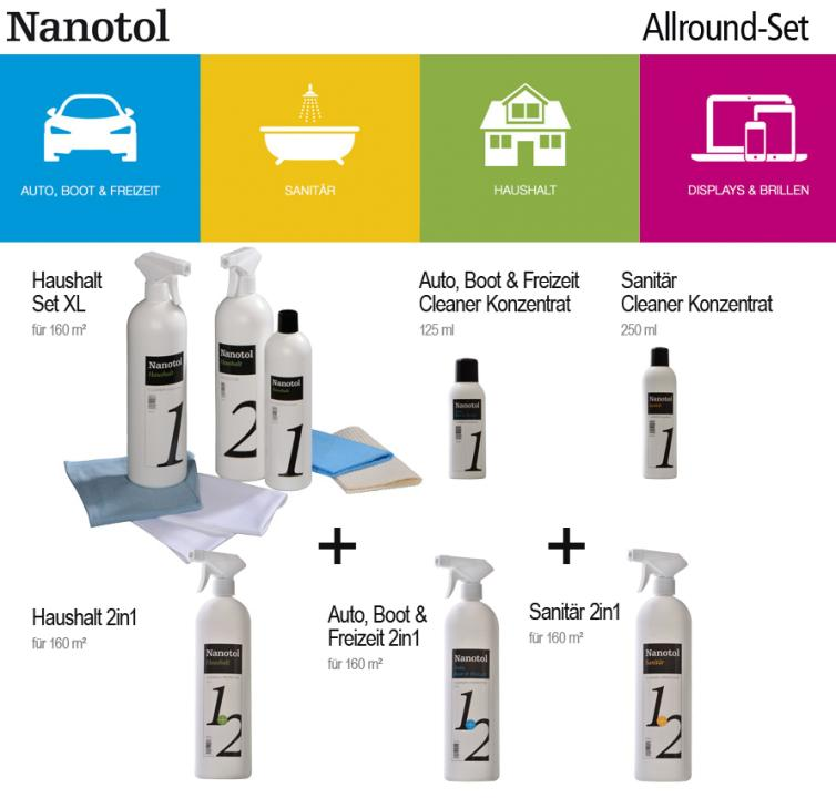 Nanotol Allround Set