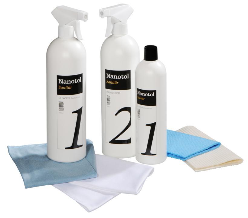 Nanotol Sanitaer Set XL