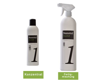 Nanotol Cleaner Konzentrat und Ready-to-use